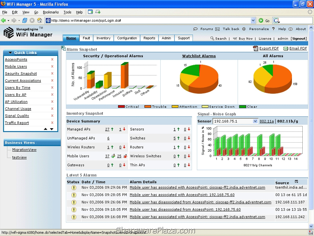 ManageEngine WiFi Manager - Wireless Software, Tools and Utilities ...