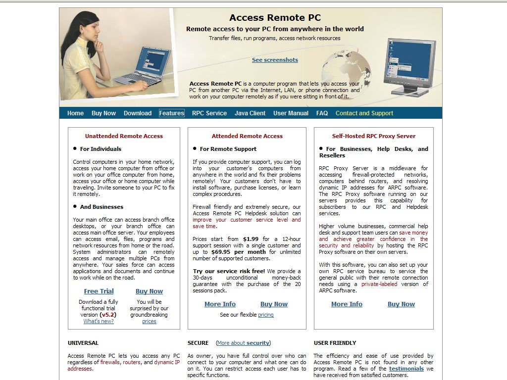Access Remote PC