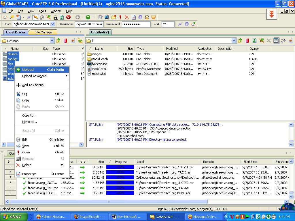 CuteFTP - FTP Tools and Utilities for download on Windows ...