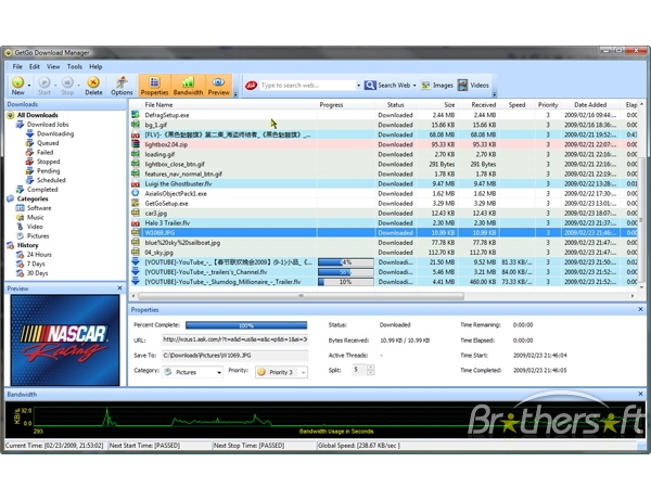 Internet Download Accelerator 4.0 Crack Full Version For Windows 7